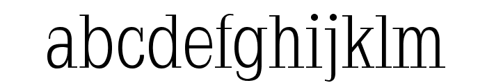 Napoleodoni Font LOWERCASE
