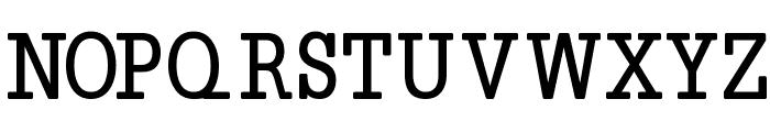 Napoleon-Bold Font UPPERCASE