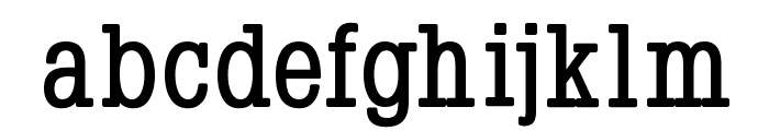 Napoleon-Bold Font LOWERCASE