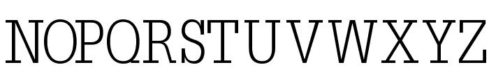 Napoleon-Light Font UPPERCASE