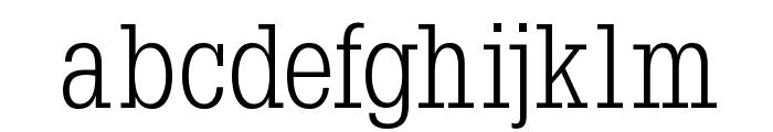 Napoleon-Light Font LOWERCASE