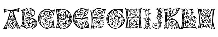 Napoli Initialen Font UPPERCASE