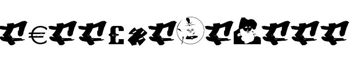 Narcoleptix Font LOWERCASE