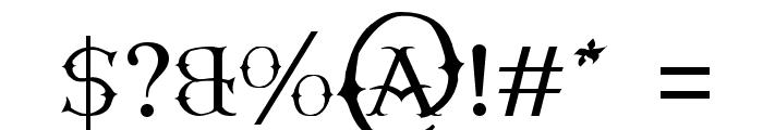 Narnfont Font OTHER CHARS