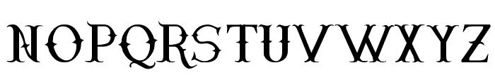 Narnfont Font UPPERCASE