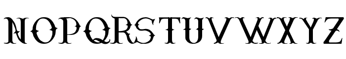 Narnfont Font LOWERCASE