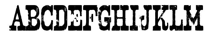 Nashville Font UPPERCASE