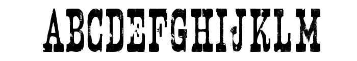 Nashville Font LOWERCASE