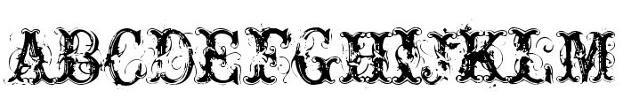 Nasty Font UPPERCASE