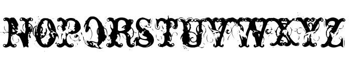 Nasty Font LOWERCASE