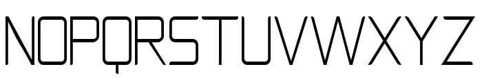 Natalisa Thin Font UPPERCASE