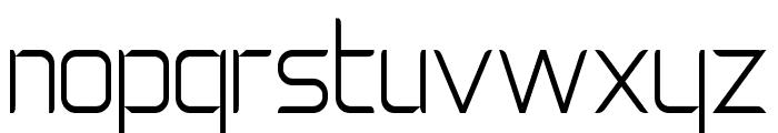 Natalisa Thin Font LOWERCASE