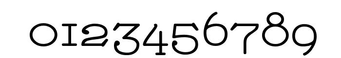 Nathan Alternates Expanded Regular Font OTHER CHARS