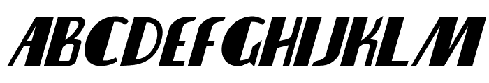 Nathan Brazil Bold Italic Font LOWERCASE