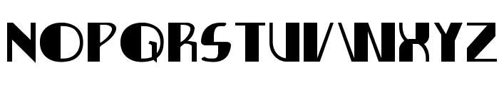 Nathan Brazil Expanded Font UPPERCASE