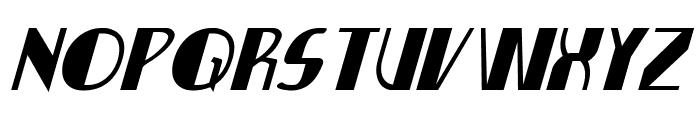 Nathan Brazil Italic Font UPPERCASE