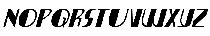 Nathan Brazil Italic Font LOWERCASE