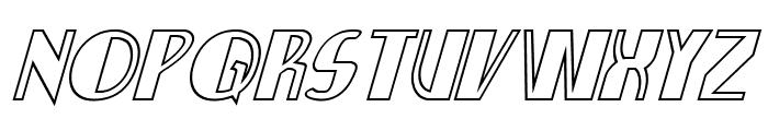Nathan Brazil Shadow Italic Font UPPERCASE