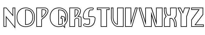 Nathan Brazil Shadow Regular Font UPPERCASE