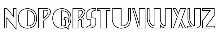 Nathan Brazil Shadow Regular Font LOWERCASE