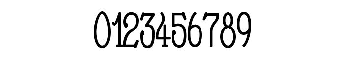Nathan Condensed Regular Font OTHER CHARS