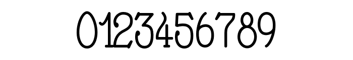 Nathan Regular Font OTHER CHARS