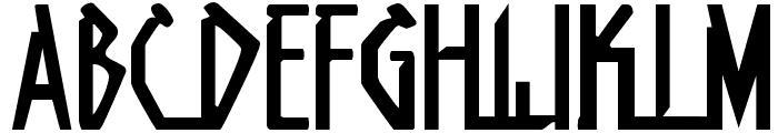 Native Alien Font UPPERCASE