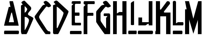 Native Alien Font LOWERCASE