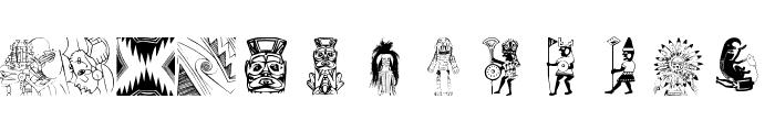 NativeAmericans Font UPPERCASE
