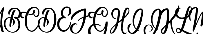 Natural Beauty Personal Use Regular Font UPPERCASE