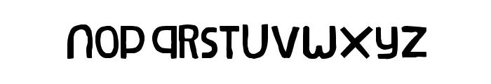 Natural Log Font UPPERCASE