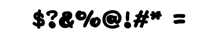 NaturalisticPlayground Font OTHER CHARS