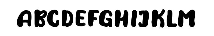 NaturalisticPlayground Font UPPERCASE