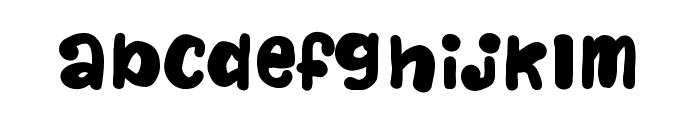 NaturalisticPlayground Font LOWERCASE