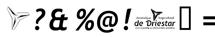 Natzilino SemiBold Font OTHER CHARS