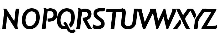 Natzilino SemiBold Font UPPERCASE