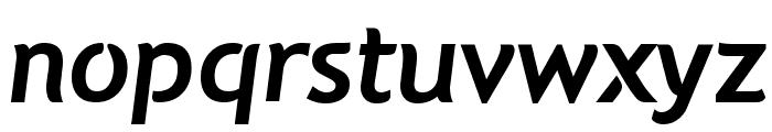Natzilino SemiBold Font LOWERCASE