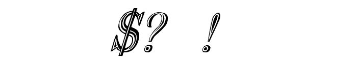 Nauert-Italic Font OTHER CHARS