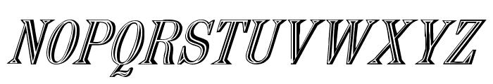 Nauert-Italic Font UPPERCASE