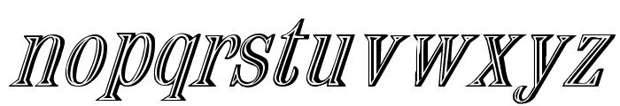 Nauert-Italic Font LOWERCASE