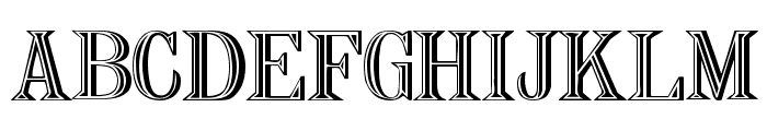 Nauert Plain Font UPPERCASE
