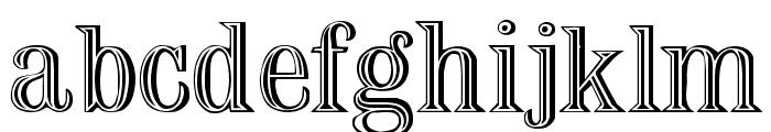 Nauert Plain Font LOWERCASE