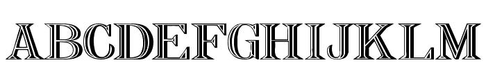 Nauert Wd Plain Font UPPERCASE