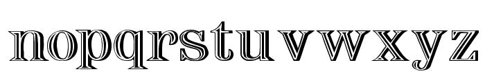 Nauert Wd Plain Font LOWERCASE