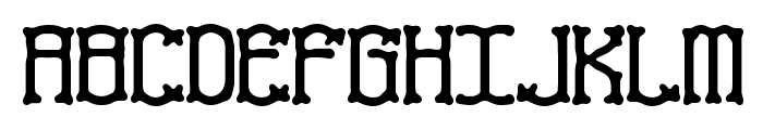 Naughts BRK Font UPPERCASE