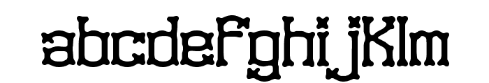 Naughts BRK Font LOWERCASE