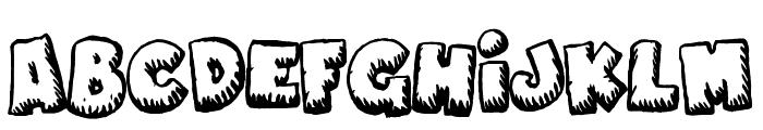 Naughty Cartoons Font LOWERCASE
