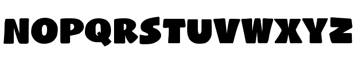 Naughty Squirrel Demo Font LOWERCASE