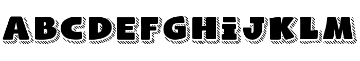 Naughty Squirrel Shadowed Demo Font LOWERCASE