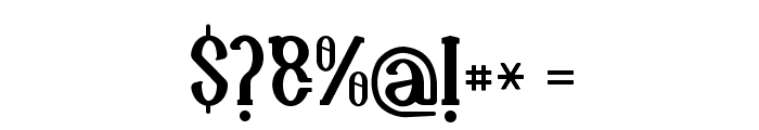 Naula Font OTHER CHARS